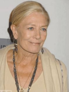 Vanessa Redgrave Sheer grace, fantastic actor. She was fantastic on Broadway and you must watch a month by the lake, great movie....