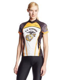 Primal Wear Women s U.S. Marines Liberty Cycling Jersey e2b85a64e