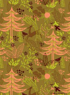 Winter Pattern-Warm tones by Lab-Partners, via Flickr