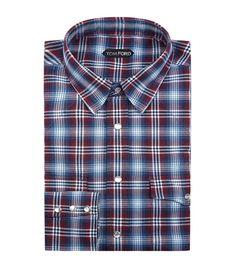 TOM FORD Western Check Shirt