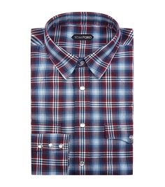 TOM FORD Western Check Shirt