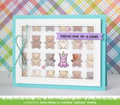 the Lawn Fawn blog: Lawn Fawn Intro: You're Claw-some, Outside In Stitched Stackables