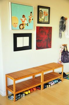 If your furniture isn't going to be beautiful, it should at least be versatile. Case in point: IKEA's Molger bench. It's not ugly by any means, but a bit plain and forgettable. But you can forgive it because it rings in at just under $40 and can report for duty all over your home. Take a look at these examples: