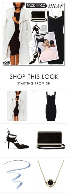 """""""Pack and Go: Milan"""" by svijetlana ❤ liked on Polyvore featuring Diane Von Furstenberg, Stila, women's clothing, women, female, woman, misses, juniors, polyvoreeditorial and Packandgo"""