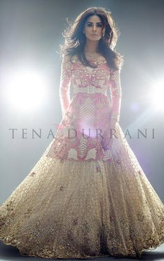 Albertine Blossom (B41) Book an Appointment: www.tenadurrani.com/albertine-blossom-2 For queries, orders and appointments inbox us, email at info@tenadurrani.com or contact +92 321 232 4600. #tenadurrani #designerwear #shopnow #Omorose #FPW15 #bridals #weddings #pakistaniweddings #brides #weddingwear #Swarovski #crystals
