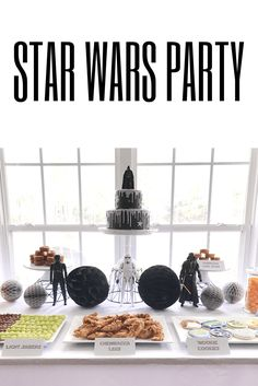Star Wars Boy Birthday Party! Birthday party idea for boys
