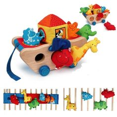 I'm Toy - Noah Activity Ark - Christmas Catalogue - Our Products - Entropy Australia Educational Toys For Toddlers, Learning Toys, Toddler Activities, Toddler Toys, Kids Toys, Children's Toys, Wooden Baby Toys, 6 Month Old Baby, Fabric Animals