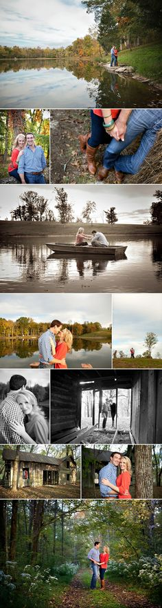 Beautiful!!! Engagement photos... Could totally do this at sunrise.. how fun??!