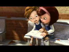 Cuerdas , Goya 2014 al mejor corto de animación.  Conmovedora historia basada en los hijos del director Pedro Solís García