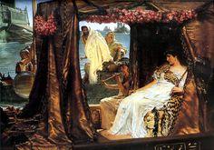 Lawrence Alma-Tadema Cleopatra | Foto: Sir Lawrence Alma-Tadema, Antony and Cleopatra (1883)