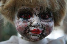 Isa/ altered doll/ dark doll/ Creepy Doll/  by ravensdarkdolls