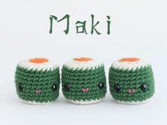 Amigurumi maki (free pattern) ༺✿ƬⱤღ  http://www.pinterest.com/teretegui/✿༻