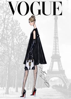 Hayden Williams Fashion Illustrations | Vogue_BonjourParis_FashionIllustration_HaydenWilliams