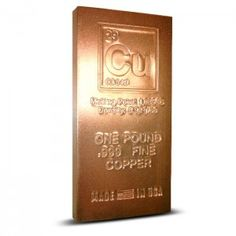 .999 Half Pound Copper Bar 2012 Provident Metals Mint Cu Element Pure Bullion Other Bullion