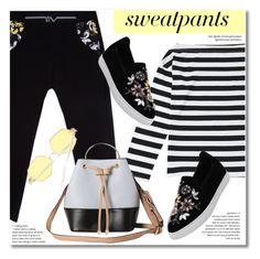 """Comfort is Key: Sweatpants"" by svijetlana ❤ liked on Polyvore featuring Swetpants and zaful"