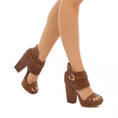 BCB Generation Gooney - Slightly rocker, slightly boho, and a whole lot of chic, genuine-leather  platform sandal     *ShoeDazzle