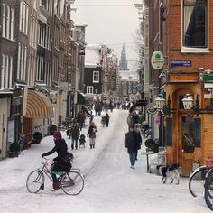 Amsterdam, Netherlands The Old Church in the heart of Amsterdam. Taken from the Prinsenstraat JOrdaan the village in Amsterdam Amsterdam City, Amsterdam Netherlands, Photography Challenge, Winter Scenes, Places To See, Countryside, Beautiful Places, Scenery, Old Things