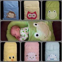 DIY Un coussin pour le sommeil de bébé et une turbulente. (DIY Pillowcase Sleeping Bag for Baby Tutorial) (http://thewhoot.com.au/shop/baby-nap-mat)