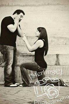 something im going to do if Nathan doesnt hurry up! Funny Engagement Photography, Funny Engagement Photos, Engagement Humor, Engagement Shots, Engagement Couple, Couple Photography, Wedding Photography, Wedding Pics, Rose Wedding