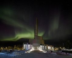 Cathedral of the Northern Lights, Alta, 2013