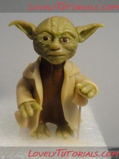 Yoda (from Star Wars) tutorial