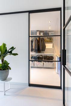 Aluminium Deur, Sliding Doors, Beach House, Sweet Home, Living Room, Interior Design, Mirror, Kitchen, Inspiration