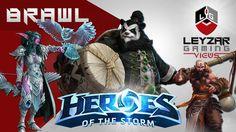 Heroes of the Storm (Brawl Gameplay) - Tyrande | Kael'thas | Kharazim | ...