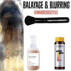 Balayage & Redken Blurring |Going Blonder with Olaplex|