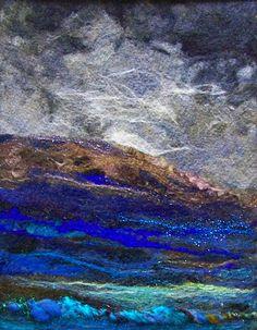 Deebs Fiber Arts-'Storm Brewing Again'