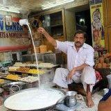 A kadai milk and #Sweets in #Agra #Street #Food #India #ekPlate #ekplatesweets