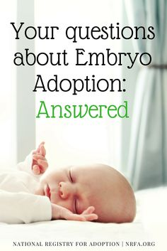 From embryo adoption costs to how donation works, we've got you covered with Embryo Adoption FAQs on the blog.  #snowflakebaby #embryoadoption