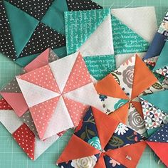 Piecing with a little of @deenarutter's Heart and Soul collection this weekend. @rileyblakedesigns