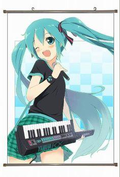 Miku Hatsune Wallscroll MHWS3908   123COSPLAY   Anime Merchandise Shop Free Shipping From China   Anime Wholesale