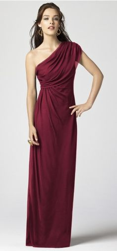 another bridesmaid dress (in burgundy)