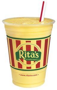 Rita's Mango Misto...Yummy