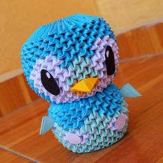 Piplup 3D Origami