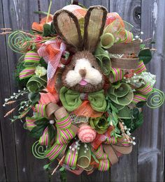 Here comes Peter Cottontail hopping down the bunny trail! Hippity Hop- Easters on its way! The colors of spring is so charming with this gorgeous