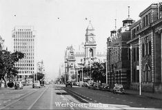 West Street – Durban – A Pictorial History Durban South Africa, Graham, Times Square, Street View, African, Paint, History, Places, Travel