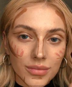 eye makeup for dark circles make up Cute Makeup, Simple Makeup, 70s Makeup, Twiggy Makeup, Creative Makeup, Contour Makeup, Skin Makeup, Contouring, Eyeshadow Makeup