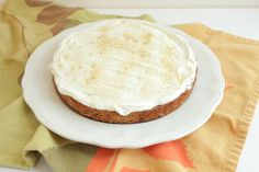 Single-Layer, Gluten-Free Carrot Cake - Big Girls Small Kitchen