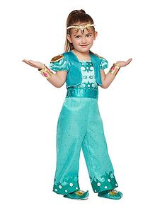 Toddler Shine Costume - Shimmer and Shine - Spirithalloween.com  sc 1 st  Pinterest & Online Get Cheap Genie Costume Child -Aliexpress.com | Alibaba Group ...