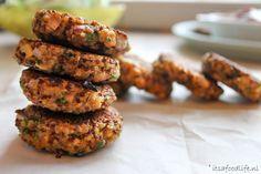 Quinoa koekjes met knoflook en kruiden   It's a Food Life