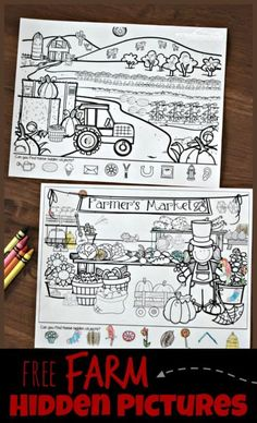 FREE Farm Hidden Picture kids will have fun practicing visual discrimination with these super cute farm printables for toddler, preschool, kindergarten age kids hiddenpictures farm preschool is part of Kindergarten worksheets - Kindergarten Science Experiments, Kindergarten Activities, Preschool Kindergarten, Preschool Printables, Preschool Education, Preschool Themes, Preschool Curriculum, Homeschooling, Free Printables