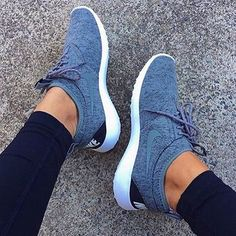 Denim Nikes, me likey