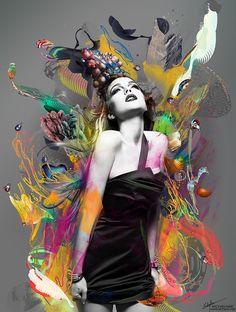 Der Künstler, der diese psychedelischen Welten erschafft, hat noch nie Drogen genommen | The Creators Project