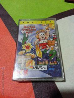 Juego Amstrad Super Wonder Boy para Amstrad CPC 464 - Cinta