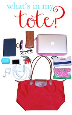 College Prep: What's In My Tote?