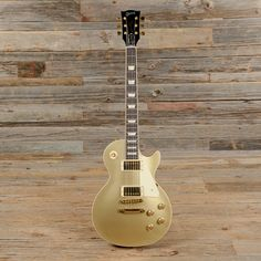 Gibson Les Paul Standard Goldtop 2015 USED (s204)   Chicago Music Exchange