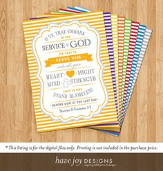 Embark In The Service Of God 2015 LDS Mutual Theme by havejoy