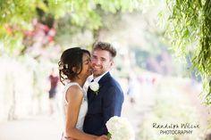 Bride and Groom on Richmond riverside